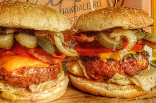 hamburger recept met appel en gehakt