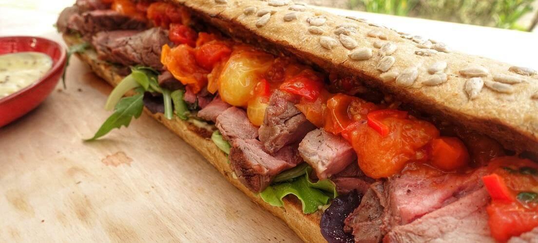 rib eye koningsdag sandwich recept