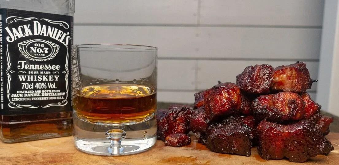 whisky porkbelly burnt ends