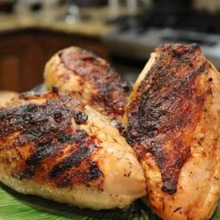 Buttermilk Brined Split Chicken Breasts