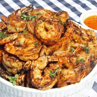 Blackened Shrimp with Cajun Garlic Butter