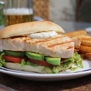 Grilled Fish Sandwich with Lemon-Chive Rémoulade: The Better Fillet-o-Fish!