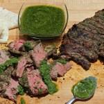 Churrasco Steak with Chimichurri