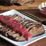 Cranberry Horseradish Holiday Brisket