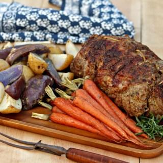 Rotisserie Leg of Lamb Provençal
