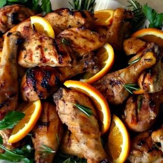 Grilled Chicken Valencia