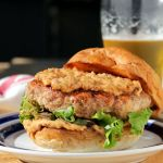 Rosemary Turkey Burgers with Sun Dried Tomato Aioli