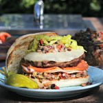 Elevate Your Tailgate: Muffaletta Burger