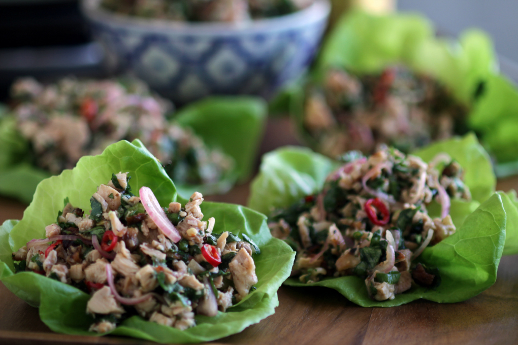 Chicken Larb h