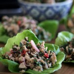 Grilled Larb Gai – Thai Chicken and Herb Salad