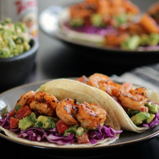 Shrimp and Avocado Tacos sq