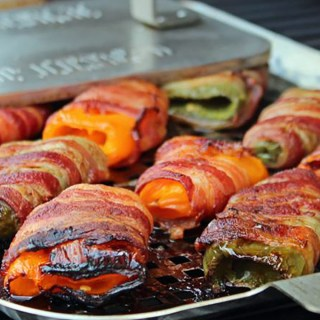 Bump Up Your Burgers with Bacon-Wrapped Sweet & Spicy Peppers
