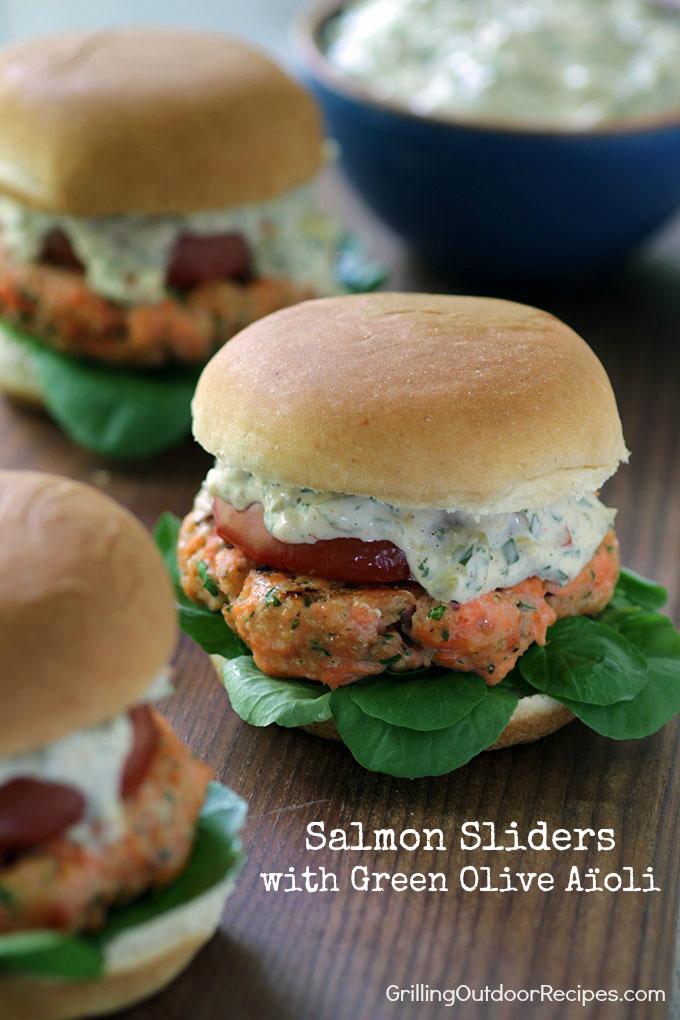 salmon sliders v