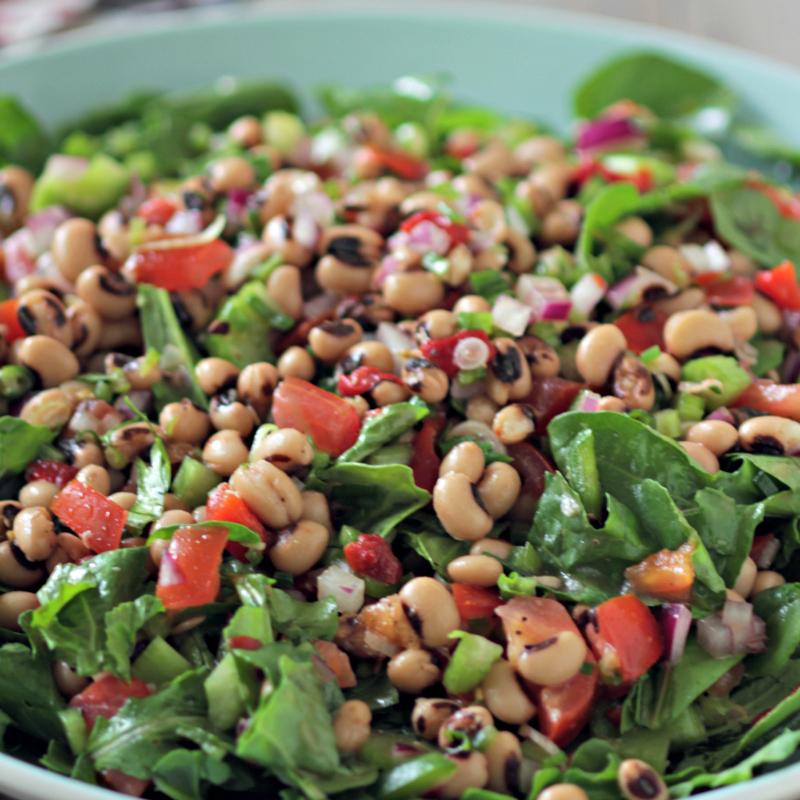 Black Eye Pea Salad sq