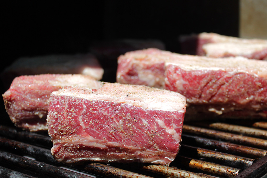 short ribs on grill