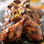The Perfect Tailgating Food: Spicy Ginger-Orange Glazed Chicken Drumsticks
