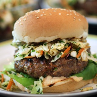 Spicy Sriracha Burger