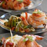 Grilled Sweet Chili Prawns with Stir-Fry Veggies