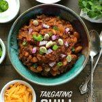 Tailgating Chili