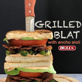 Grilled BLAT with Ancho Aioli