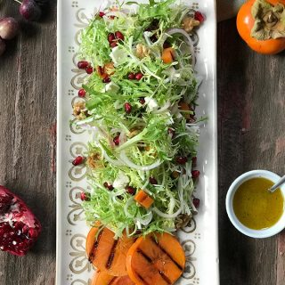 Grilled Persimmon Salad