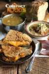 Grilled Cheese with Homemade Turkey Soup