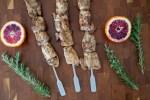 Balsamic Herb Chicken Skewers