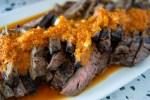 Flank Steak with Bell Pepper Salsa