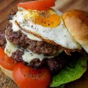 Gorgonzola Double Cheeseburger
