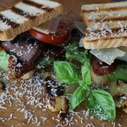 Rinderbrust Sandwich