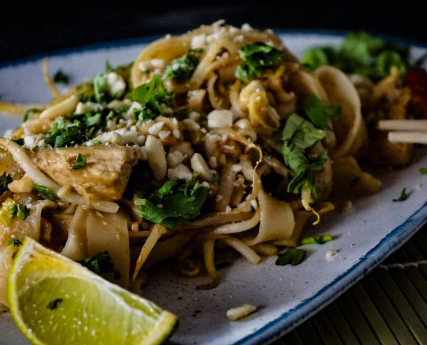 Authentisches Pad Thai