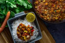 Chili sin Carne Rezept grillnations