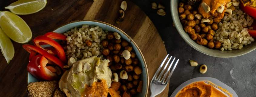 vegane Protein bowl grillnations Rezept