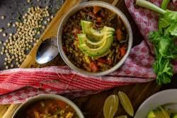 Mexikanische Linsensuppe Rezept grillnations