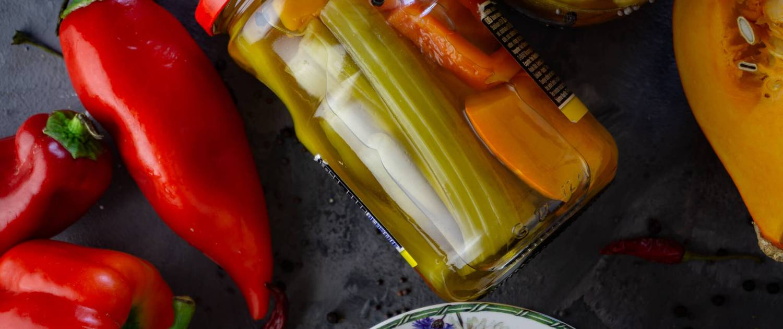 Eingelegtes Gemüse das Rezept