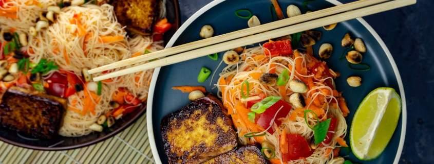 Vietnamesischer Nudelsalat Rezept Grillnations