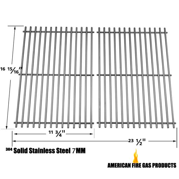 Cooking Grids For Brinkmann 2500, 2500 pro series, 2600