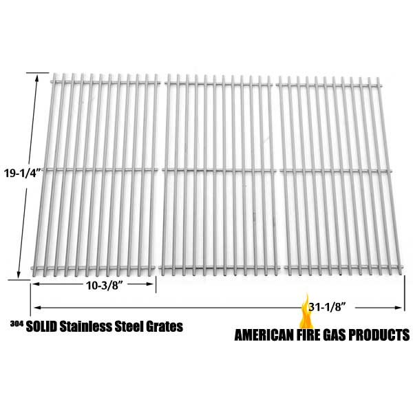 Stainless Cooking Grid for Kenmore 122.16648900, 16648