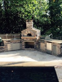Outdoor Brick Oven Kit - Wood Burning Pizza Ovens | Grills ...