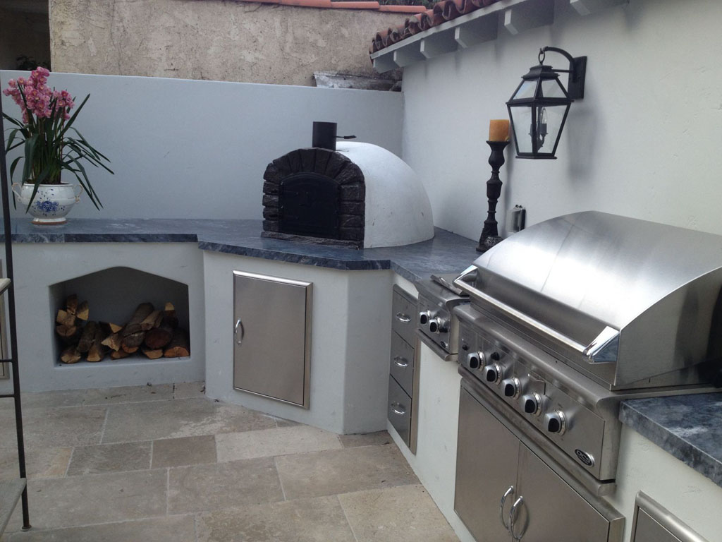 outdoor kitchen oven remodeling kansas city pizza pictures