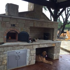 Outdoor Kitchen Pizza Oven Design Small Remodel Ideas