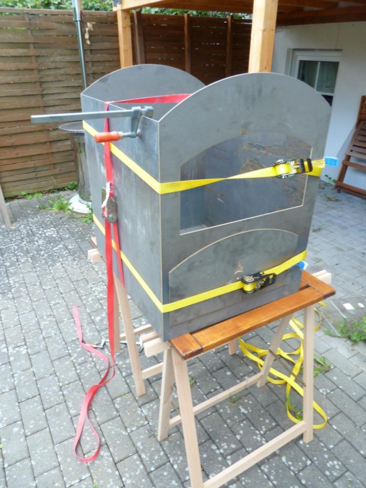 Projekt Flammkuchenofen bauen  Grillforum und BBQ  wwwgrillsportvereinde