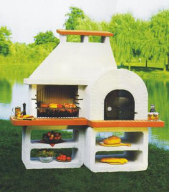 bausatz pizzaofen mit grill – motelindio, Terrassen ideen
