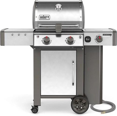 Weber Genesis II LX-240 Gas Grill with Rotisserie Burner