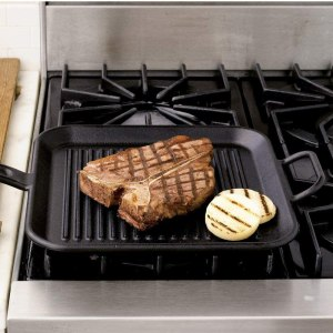 GRILL PAN ON A ELECTRIC STOVE
