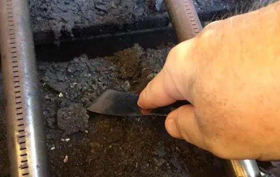 Scrape The Lower Firebox