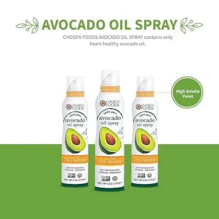Pure Avocado Oil Spray