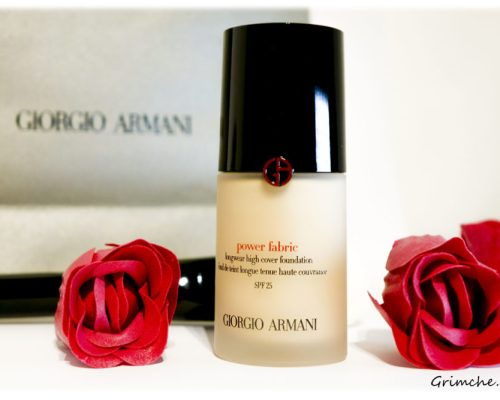 GIORGIO ARMANI POWER FABRIC ФОН ДЬО ТЕН