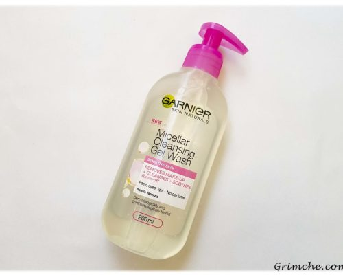 Измиващ мицеларен гел от Garnier Skin Active Micellar Cleansing Gel Wash 2