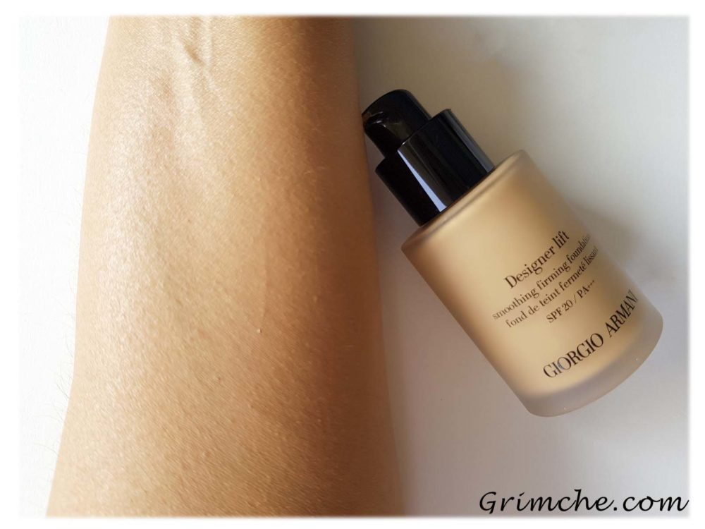фон дьо тен от Giorgio Armani Designer Lift Foundation 3